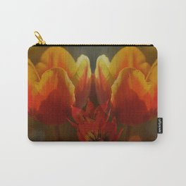Sunny afternoon Tulips Carry-All Pouch