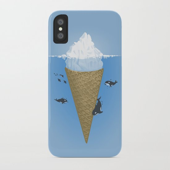 Hidden part of icebergs iPhone Case