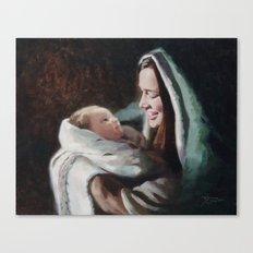 Rising Son Canvas Print