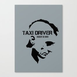 Taxi Driver - Alternative Movie Poster Canvas Print