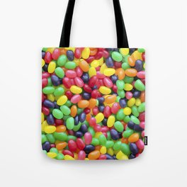 Jelly Bean Candy Photo Pattern Tote Bag