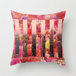 N/Y/C Throw Pillow