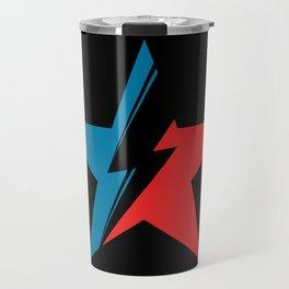 Bowie Star black Travel Mug