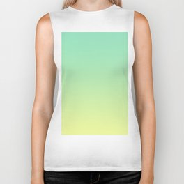 LAKE BY THE SEA - Minimal Plain Soft Mood Color Blend Prints Biker Tank