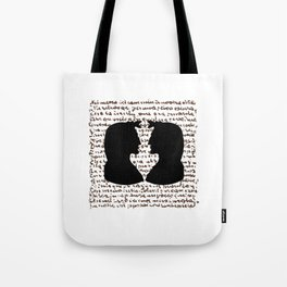 IL DIVIN POETA Tote Bag