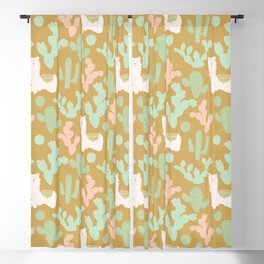Llamas Blackout Curtain
