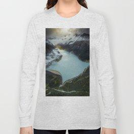 Hidden lake in Austrian Alps Long Sleeve T-shirt