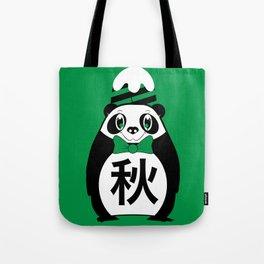 Aki - Season bear Autumn Tote Bag