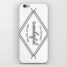 IT'S THE MOST WONDERFUL TIME OF THE YEAR iPhone & iPod Skin