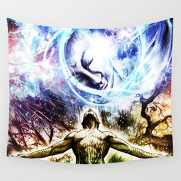 I am a Son of Earth and Starry Heaven Wall Tapestry