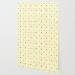 Ice Cream Pattern Wallpaper