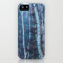 Dense Birch iPhone Case