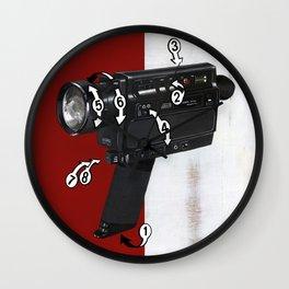 Bad Robot - Super8 Wall Clock