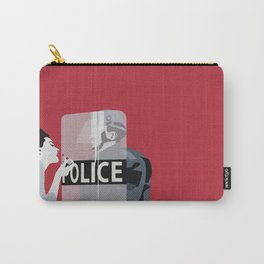 Red woman n3 Carry-All Pouch