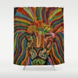 Mane Shower Curtain