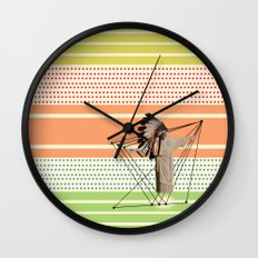 What if the Christ was an indian ?! Wall Clock