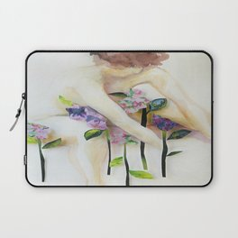 Among the Flowers Laptop Sleeve