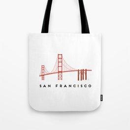 Golden Gate Bridge 2, San Francisco, California Tote Bag