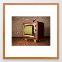 It's time for the Ed Sullivan Show! Framed Art Print