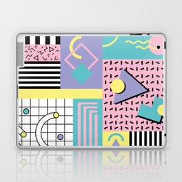 Memphis Pattern 27 - 80s - 90s Retro / 1st year anniversary design Laptop & iPad Skin