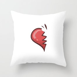 SO-MA Cute Soulmates for Valentine's Day Throw Pillow