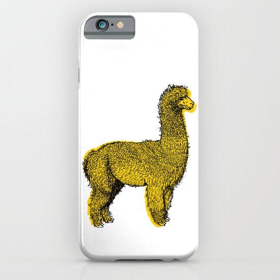 huacaya alpaca iPhone & iPod Case