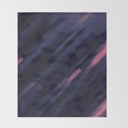 Glitched v.8 Throw Blanket