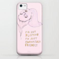 I'm not flirting, I'm just awkwardly friendly iPhone 5c Slim Case