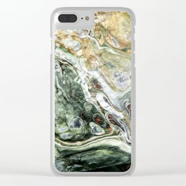 Earthen-where Clear iPhone Case