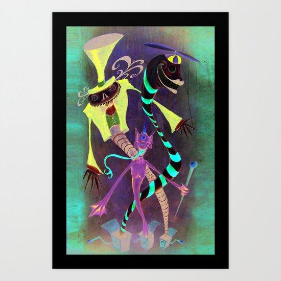 3 Jacks Art Print