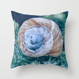 Time in a shell II Throw Pillow