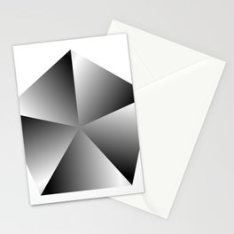 Metal Pentagon Stationery Cards