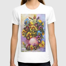 Pansies T-shirt