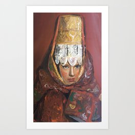 russian matriarch Art Print