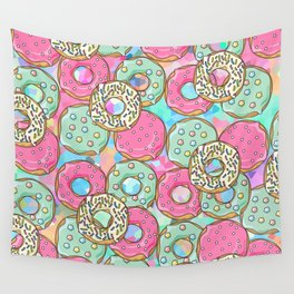 Sweet Donuts Cookies Wall Tapestry