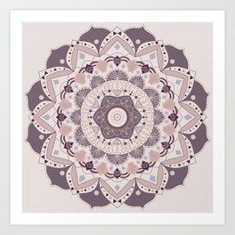 Boho love Art Print