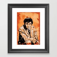Columbo Framed Art Print