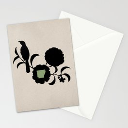 Arkansas - State Papercut Print Stationery Cards