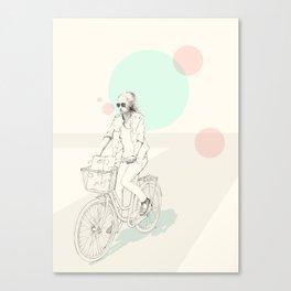 Bike ride (two) Canvas Print