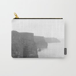 Cliffs of Moher B&W Carry-All Pouch