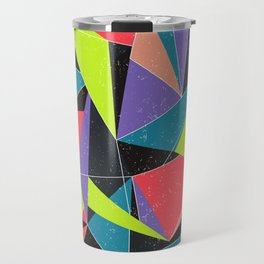Geometric explosion Travel Mug