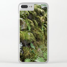 Irish Forest Clear iPhone Case