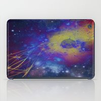 pocket fuel iPad Cases featuring Fuel Trails by AbstractAnomaly