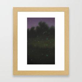 Hotaru-gari IV  Framed Art Print