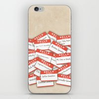 psych iPhone & iPod Skins featuring PSYCH.. GUS FUNNY NAMES.. by studiomarshallarts