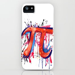 Emotional Pi iPhone Case