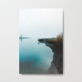 Morning Fog Metal Print