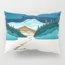 Mt. Hood from the base of Heather Canyon Pillow Sham