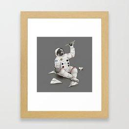 Astronaut in Training Framed Art Print