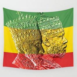 Haile Selassie King Menelik Wall Tapestry
